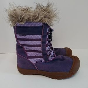 Keen winter boots leather